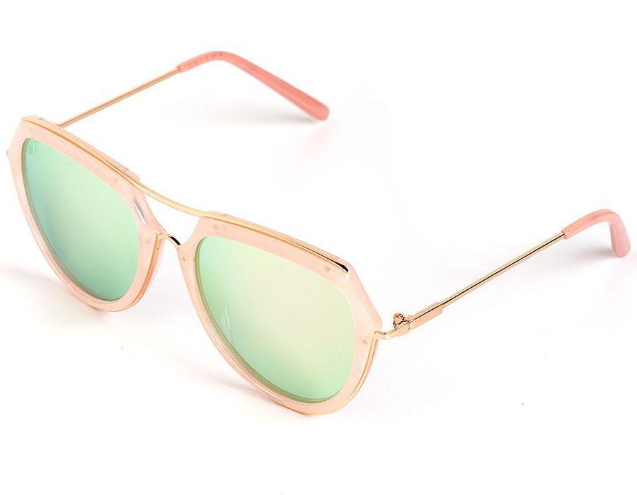 Очки солнцезащитные женские Selena, цвет: розовый. 80035781INT-06501Солнцезащитные женские очки Selena выполнены из качественного материала. Линзы очков обеспечивают 100% защиту от ультрафиолетовых лучей.Такие очки защитят глаза от ультрафиолетовых лучей, подчеркнут вашу индивидуальность и сделают ваш образ завершенным.Размер (ширина линзы*ширина моста-длина дужки) 56*20-140.