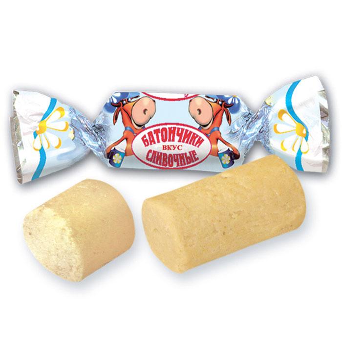 Красный Октябрь конфеты батончики сливочные, 250 г0120710Классические пралиновые конфеты со сливочным вкусом.