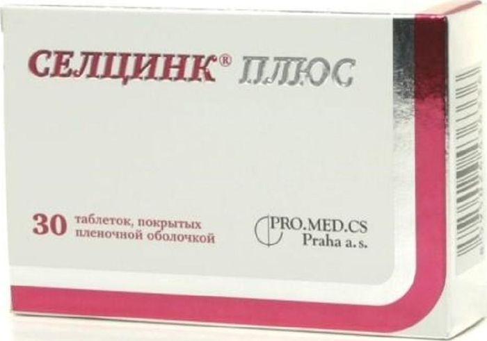 Селцинк Плюс, 30 таблеток11586Селцинк Плюс - биологически активная добавка; комбинированный антиоксидант, содержащий комплекс микроэлементов и витаминов: селен, цинк, витамин Е, витамин С и бета-каротин.Содержит комплекс микроэлементов и витаминов, обладающий антиоксидантной активностью.Ионы цинка являются кофактором ферментной системы супероксидисмутазы, которая катализирует реакцию диспропорционирования свободных радикалов. Кроме того, ионы цинка необходимы для проявления активности гидролаз (фосфатазы, пептидазы, киназы), которые участвуют, в частности, в переносе фосфата играют важную роль в метаболизме нуклеиновых кислот, белков, жиров, углеводов, жирных кислот, гормонов (в т.ч. половых).Ионы селена являются кофактором ферментной системы глутатионпероксидазы, которая разлагает перекись водорода за счет одновременного окисления восстановленного глутатиона.Высокой антирадикальной активностью обладает витамин Е (альфа-токоферол), обеспечивая защиту ненасыщенных жирных кислот в мембранах от явления липопероксидации и участвуя в формировании межклеточного вещества, коллагеновых и эластичных волокон соединительной ткани, гладкой мускулатуры сосудов, пищеварительного тракта.К витаминам с антиоксидантными свойствами относится также и витамин С (аскорбиновая кислота), который, кроме того, обеспечивает синтез коллагена, участвует в метаболизме фолиевой кислоты и железа (см. железа соли), играет важную роль в синтезе стероидных гормонов и катехоламинов, бета-каротин - жирорастворимый растительный пигмент из группы каротиноидов, поступая в организм, накапливается в нем и превращается в ретинол (витамин А), который, взаимодействуя с различными опсинами, участвует в формировании зрительных пигментов, необходимых для нормального сумеречного и цветового зрения обеспечивает целостность эпителиальных тканей, регулирует рост костей. Сфера применения: Витаминология.Селен. Товар сертифицирован.