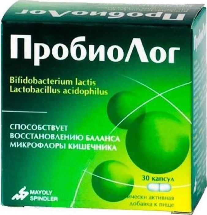 Пробиолог, 30 капсул х 180 мг211809ПробиоЛог представляет собой пробиотик, сочетающий в себе два вида штаммов бактерий: Lactobacillus acidophilus (ацидофильные лактобактерии) и Bifidobacterium lactis (молочные бифидобактерии), которые присутствуют в кишечной микрофлоре любого здорового организма и принимают участие в модуляции кишечной проходимости. Регулярное применение препарата ПробиоЛог позволяет поддерживать естественный баланс кишечной микрофлоры и способствует улучшению кишечной проходимости. ПробиоЛог также оказывает благотворное воздействие и на процесс пищеварения. Товар не является лекарственным средством. Товар не рекомендован для лиц младше 18 лет. Могут быть противопоказания и следует предварительно проконсультироваться со специалистом. Товар сертифицирован.