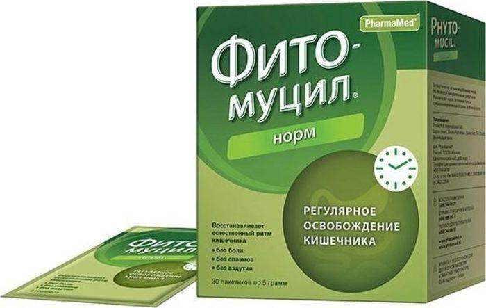 Фитомуцил Норм пакетик 5г №302199871.обеспечивает комфортное освобождение кишечника 2.восстанавливает регулярный стул 3.выводит токсины и канцерогены 4.нормализует микрофлору кишечника 5.не вызывает побочных эффектов и привыкания Сфера применения: ГастроэнтерологияПробиотическое и пребиотическое