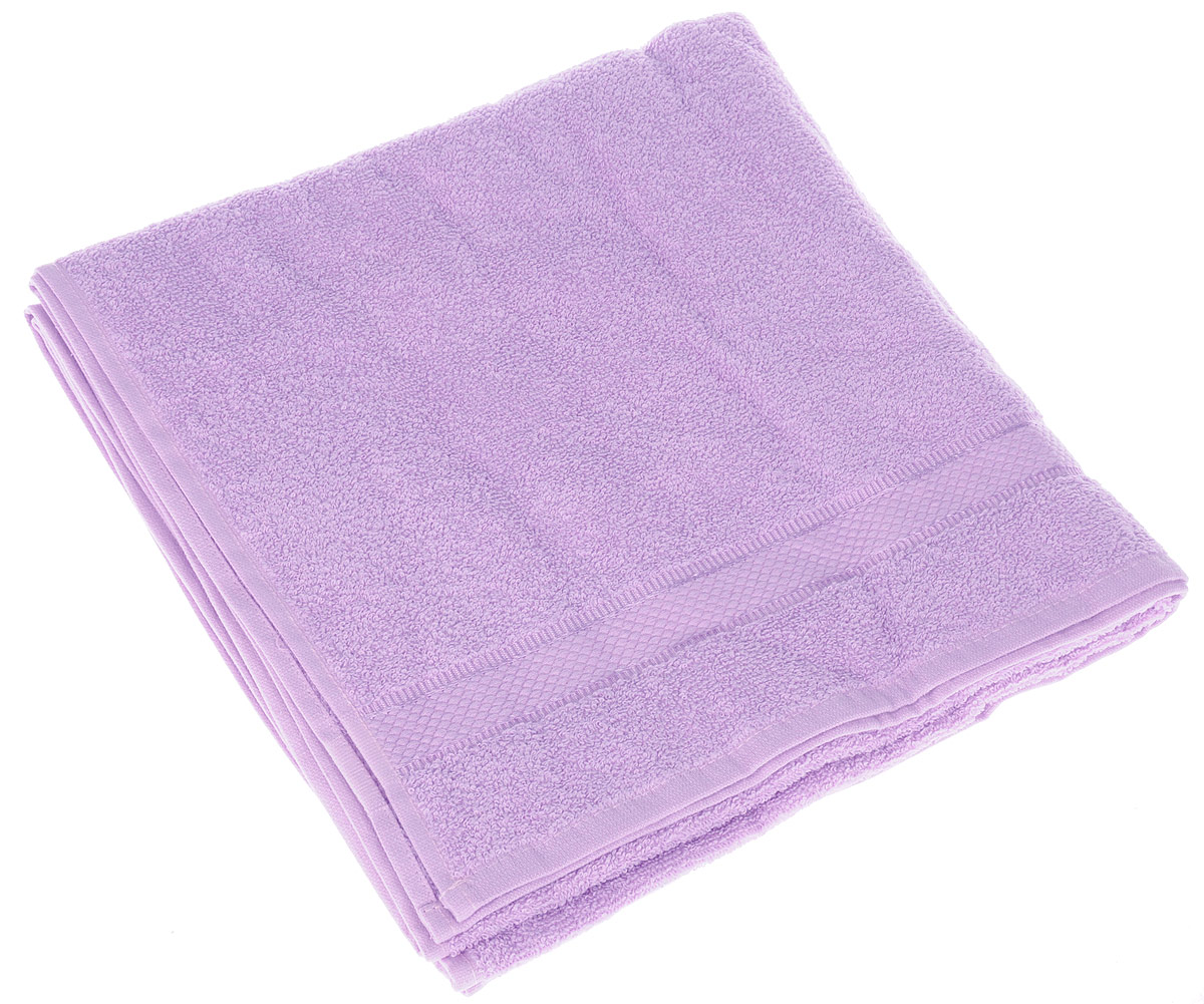 Полотенце Brielle Basic, цвет: лиловый, 70 х 140 см68/5/4Полотенце Brielle Basic выполнено из 100% хлопка. Изделие очень мягкое, оно отлично впитывает влагу, быстро сохнет, сохраняет яркость цвета и не теряет формы даже после многократных стирок. Лаконичные бордюры подойдут для любого интерьера ванной комнаты. Полотенце прекрасно впитывает влагу и быстро сохнет. При соблюдении рекомендаций по уходу не линяет и не теряет форму даже после многократных стирок.Полотенце Brielle Basic очень практично и неприхотливо в уходе.Такое полотенце послужит приятным подарком.
