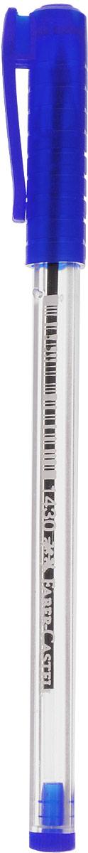 Faber-Castell Ручка шариковая 1430 цвет чернил синий72523WDШариковая ручка Faber-Castell 1430 эргономичной трехгранной формы станет незаменимым атрибутом учебы или работы. Прозрачный корпус ручки выполнен из пластика. Вентилируемый колпачок соответствует цвету чернил.Высококачественные чернила позволяют добиться идеальной плавности письма.