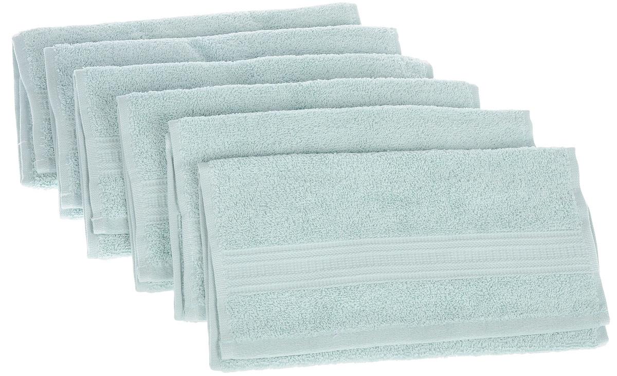 Набор полотенец TAC Mix and sleep, цвет: мятный, 30 х 50 см, 6 шт68/5/1Набор TAC Mix and sleep состоит из шести полотенец, выполненных из натуральной махровой ткани (100% хлопка). Изделия отлично впитывают влагу, быстро сохнут, сохраняют яркость цвета и не теряют формы даже после многократных стирок. Полотенца TAC Mix and sleep очень практичны и неприхотливы в уходе. Такой набор послужит приятным подарком.