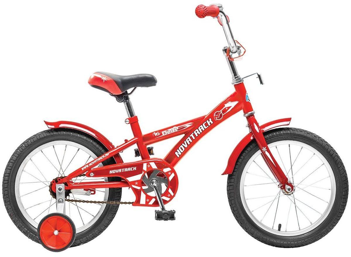 Велосипед детский Novatrack Delfi, цвет: красный, 20203DELFI.RD6Велосипед Novatrack Delfi c 20-дюймовыми колесами это надежный велосипед для ребят от 7 до 10 лет. Привлекательный дизайн, надежная сборка, легкость и отличная управляемость это еще не все плюсы данной модели. Цепь закрыта декоративной накладкой, которая защитит одежду и ноги ребенка от попадания в механизм. Данная модель специально разработана для легкого обучения езде на велосипеде. Низкая рама позволит ребенку быстро взбираться и слезать с велосипеда. Колеса закрыты крыльями, которые защитят ребенка от брызг. Велосипед оснащен дополнительными колесами, которые легко регулируются и снимаются в случае необходимости, а также ножным тормозом для наилучшего торможения.