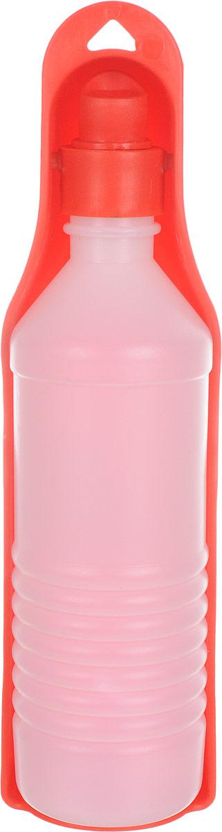 Бутылка дорожная для собак GiGwi, 500 млМ4Бутылка дорожная для собак GiGwi - идеальное решение для длительных переездов и путешествий. Пластиковая бутылка с миской-формочкой дополнена шнурком для крепления на рюкзак.Объем: 500 мл