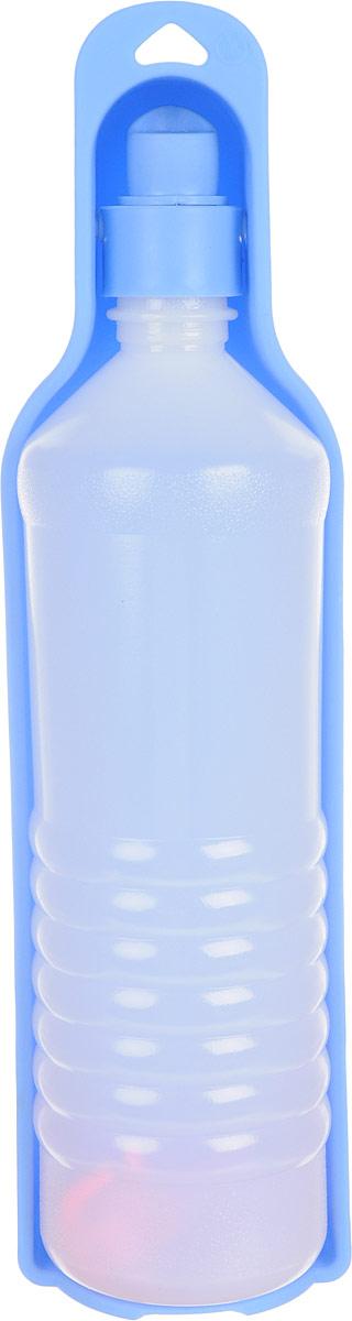 Бутылка дорожная для собак GiGwi, 750 мл0120710Бутылка дорожная для собак GiGwi - идеальное решение для длительных переездов и путешествий. Пластиковая бутылка с миской-формочкой дополнена шнурком для крепления на рюкзак.Объем: 750 мл