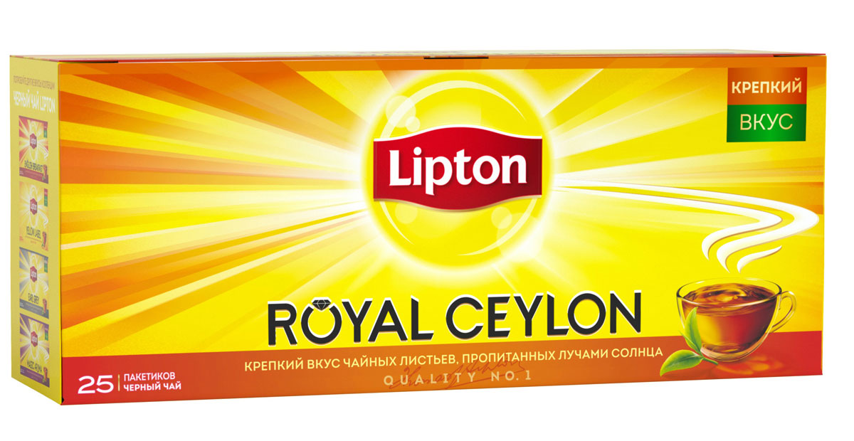 Lipton Черный чай Royal Ceylon 25 шт