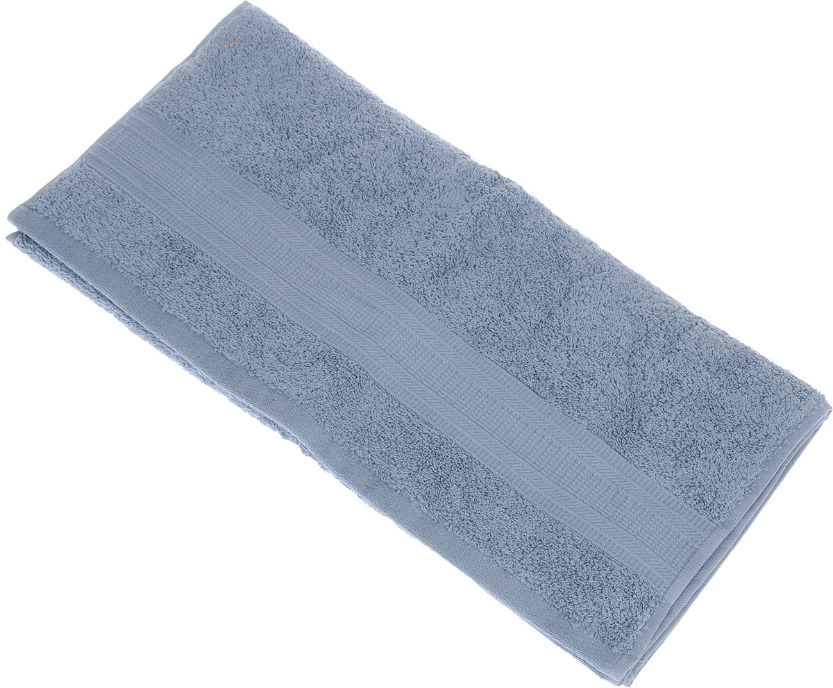 Полотенце TAC Mixandsleep, цвет: серо-голубой, 50 х 90 смCLP446Махровое полотенце TAC Mixandsleep выполнено из приятного на ощупь натурального хлопка серо-голубого цвета и декорировано изящным орнаментом. Полотенце прекрасно впитывает влагу и легко стирается.Полотенце TAC Mixandsleep создаст атмосферу уюта и комфорта в вашем доме.Хлопок - это волшебный цветок, хранящий в своем сердце тепло и нежность. Человек начал использовать волокна этих растений еще в глубокой древности. Этот натуральный материал обладает такими свойствами как гигроскопичность и гипоаллергенность. Размер: 50 см х 90 см. Плотность: 500 г/м2.
