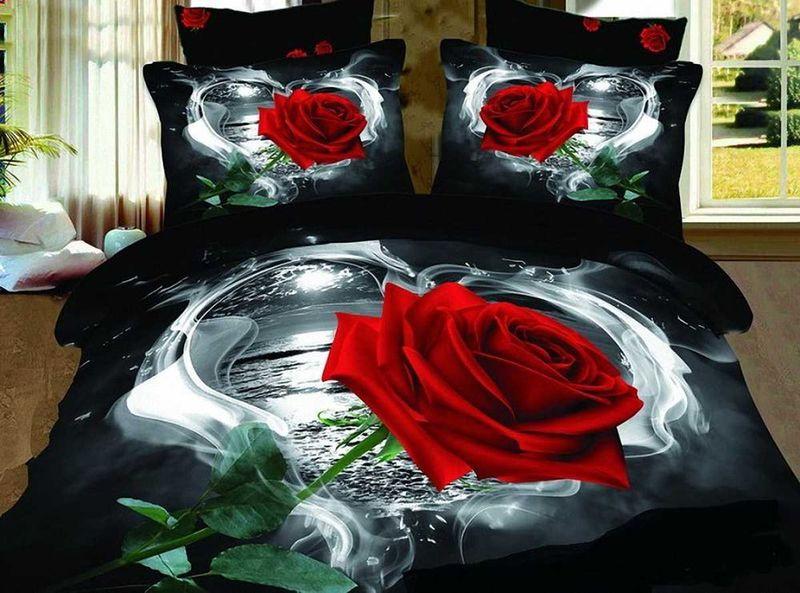 Комплект белья МарТекс Роза, 1,5-спальный, наволочки 50х70. 01-0129-1391602Комплект постельного белья МарТекс Роза, выполненный из сатина (100% хлопок), состоит из пододеяльника, простыни и двух наволочек. Изделия оформлены оригинальным принтом. Сатин - прочная, легкая и мягкая на ощупь ткань. Белье из него нелиняет при стирке и легко гладится. Эта ткань традиционно считаетсяодной из лучших для изготовления постельного белья.Такой комплект подойдет для любого стилевого и цветового решения интерьера, а также создаст в доме уют. Приобретая комплект постельного белья МарТекс, вы можете быть уверенны в том, что покупкадоставит вам и вашим близким удовольствие и подарит максимальный комфорт.