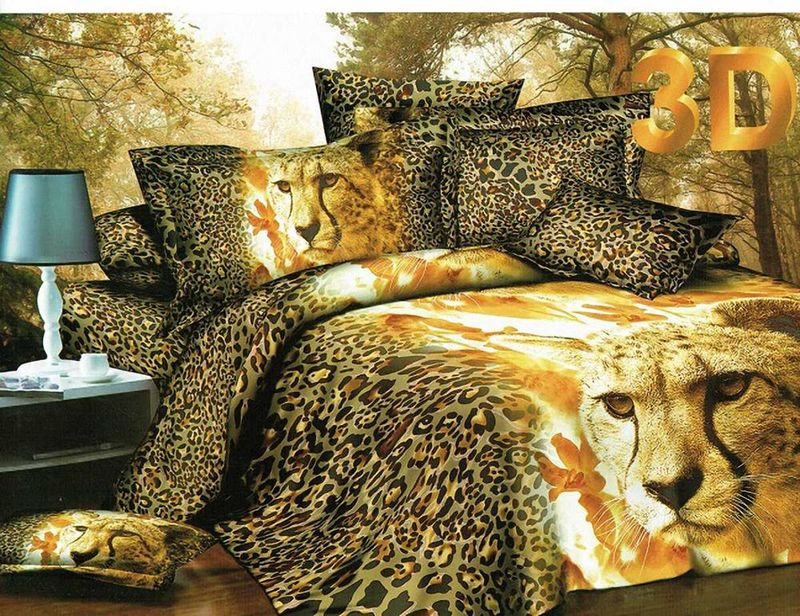 Комплект белья МарТекс Леопард, евро, наволочки 50х70, 70х70PANTERA SPX-2RSКомплект постельного белья МарТекс Леопард, выполненный из микрополиэстера, состоит из пододеяльника, простыни и четырех наволочек. Изделия оформлены оригинальным рисунком. Такой комплект подойдет для любого стилевого и цветового решения интерьера, а также создаст в доме уют. Приобретая комплект постельного белья МарТекс, вы можете быть уверенны в том, что покупкадоставит вам и вашим близким удовольствие и подарит максимальный комфорт.