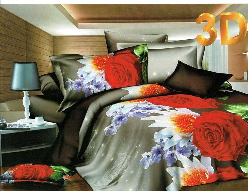 Комплект белья МарТекс Рузана, евро, наволочки 50х70, 70х70FA-5125 WhiteКомплект постельного белья МарТекс Рузана, выполненный из микрополиэстера, состоит из пододеяльника, простыни и четырех наволочек. Изделия оформлены оригинальным рисунком. Такой комплект подойдет для любого стилевого и цветового решения интерьера, а также создаст в доме уют. Приобретая комплект постельного белья МарТекс, вы можете быть уверенны в том, что покупкадоставит вам и вашим близким удовольствие и подарит максимальный комфорт.