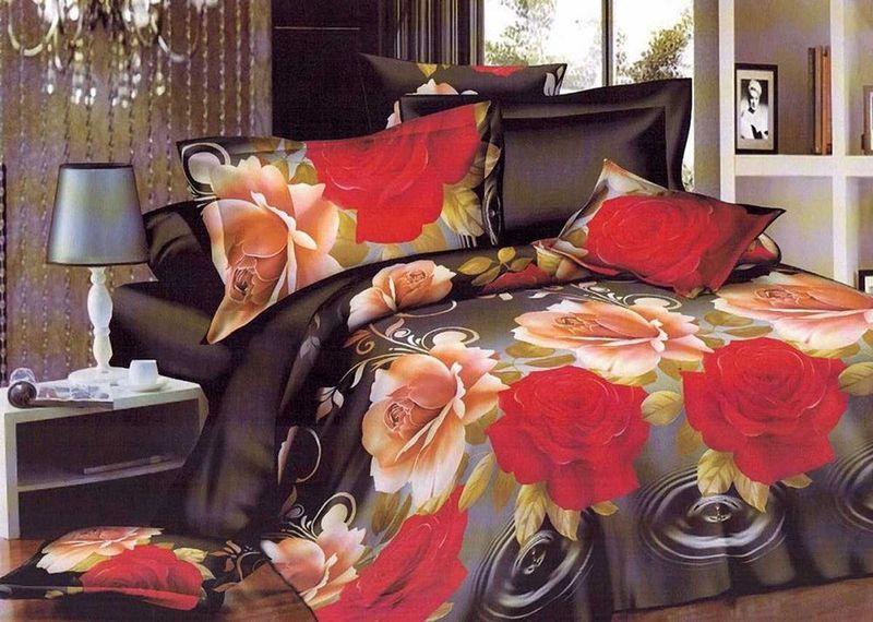 Комплект белья МарТекс Восток, евро, наволочки 50х70, 70х7010503Комплект постельного белья МарТекс Восток, выполненный из микрополиэстера, состоит из пододеяльника, простыни и четырех наволочек. Изделия оформлены оригинальным рисунком. Такой комплект подойдет для любого стилевого и цветового решения интерьера, а также создаст в доме уют. Приобретая комплект постельного белья МарТекс, вы можете быть уверенны в том, что покупкадоставит вам и вашим близким удовольствие и подарит максимальный комфорт.
