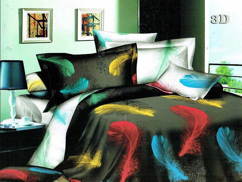 Комплект белья МарТекс Мечта, 2-спальный, наволочки 70х70FA-5125 WhiteКомплект постельного белья МарТекс Мечта, выполненный из микрополиэстера, состоит из пододеяльника, простыни и двух наволочек. Изделия оформлены оригинальным рисунком. Такой комплект подойдет для любого стилевого и цветового решения интерьера, а также создаст в доме уют. Приобретая комплект постельного белья МарТекс, вы можете быть уверенны в том, что покупка доставит вам и вашим близким удовольствие и подарит максимальный комфорт.
