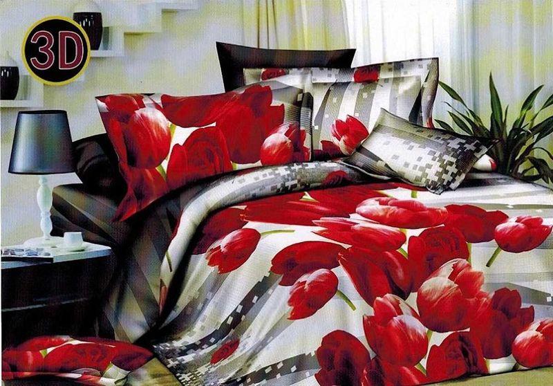 Комплект белья МарТекс Радость, евро, наволочки 50х70, 70х7079 02471Комплект постельного белья МарТекс Радость, выполненный из микрополиэстера, состоит из пододеяльника, простыни и четырех наволочек. Изделия оформлены оригинальным рисунком. Такой комплект подойдет для любого стилевого и цветового решения интерьера, а также создаст в доме уют. Приобретая комплект постельного белья МарТекс, вы можете быть уверенны в том, что покупкадоставит вам и вашим близким удовольствие и подарит максимальный комфорт.