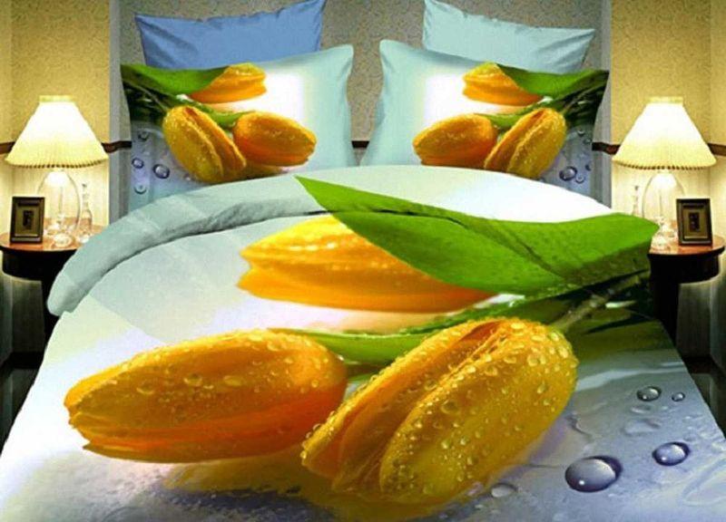 Комплект белья МарТекс, 1,5-спальный, наволочки 70х70. 01-1160-1391602Комплект постельного белья МарТекс, выполненный из микрополиэстера, состоит из пододеяльника, простыни и двух наволочек. Постельное белье обладает яркими, сочными цветами. Изделия оформлены оригинальным рисунком.Такой комплект подойдет для любого стилевого и цветового решения интерьера, а также создаст в доме уют.