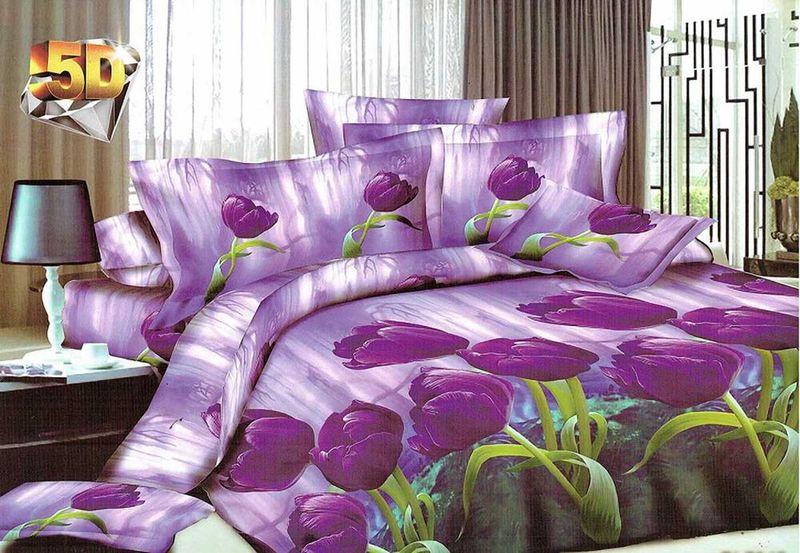 Комплект белья МарТекс Малация, 1,5-спальный, наволочки 70х70CLP446Комплект постельного белья МарТекс Малация, выполненный из микрополиэстера, состоит из пододеяльника, простыни и двух наволочек. Изделия оформлены оригинальным рисунком. Такой комплект подойдет для любого стилевого и цветового решения интерьера, а также создаст в доме уют. Приобретая комплект постельного белья МарТекс, вы можете быть уверенны в том, что покупка доставит вам и вашим близким удовольствие и подарит максимальный комфорт.
