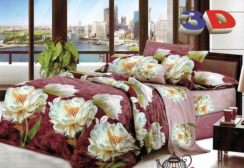 Комплект белья МарТекс Гарра, 2-спальный, наволочки 70х70391602Комплект постельного белья МарТекс Гарра, выполненный из микрополиэстера, состоит из пододеяльника, простыни и двух наволочек. Изделия оформлены оригинальным рисунком. Такой комплект подойдет для любого стилевого и цветового решения интерьера, а также создаст в доме уют. Приобретая комплект постельного белья МарТекс, вы можете быть уверенны в том, что покупкадоставит вам и вашим близким удовольствие и подарит максимальный комфорт.