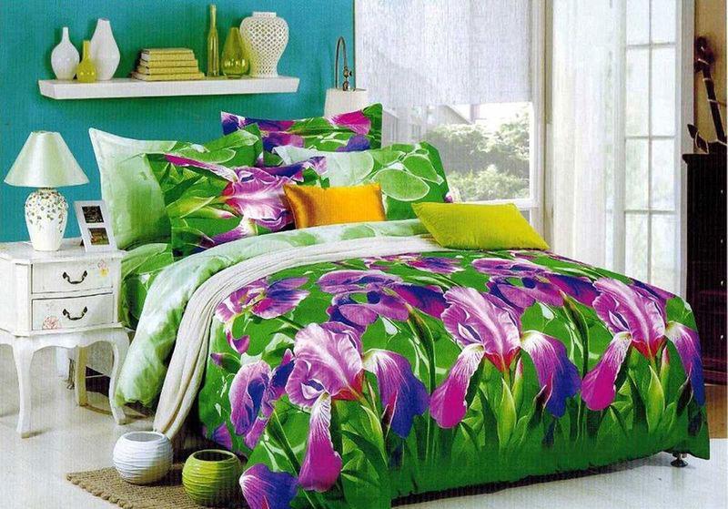 Комплект белья МарТекс Огита, 1,5-спальный, наволочки 70х7001-1380-1Комплект постельного белья МарТекс Огита, выполненный из микрополиэстера, состоит из пододеяльника, простыни и двух наволочек. Изделия оформлены оригинальным рисунком. Такой комплект подойдет для любого стилевого и цветового решения интерьера, а также создаст в доме уют. Приобретая комплект постельного белья МарТекс, вы можете быть уверенны в том, что покупка доставит вам и вашим близким удовольствие и подарит максимальный комфорт.