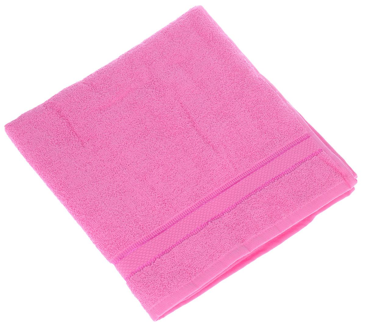 Полотенце Brielle Basic, цвет: фуксия, 70 х 140 см531-105Полотенце Brielle Basic выполнено из 100% хлопка. Изделие очень мягкое, оно отлично впитывает влагу, быстро сохнет, сохраняет яркость цвета и не теряет формы даже после многократных стирок. Лаконичные бордюры подойдут для любого интерьера ванной комнаты. Полотенце прекрасно впитывает влагу и быстро сохнет. При соблюдении рекомендаций по уходу не линяет и не теряет форму даже после многократных стирок.Полотенце Brielle Basic очень практично и неприхотливо в уходе.Такое полотенце послужит приятным подарком.