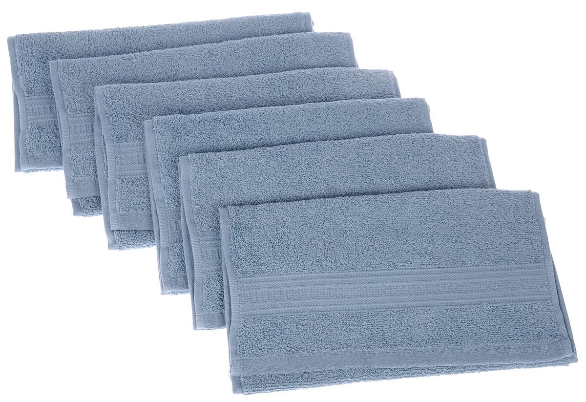 Набор полотенец TAC Mix and sleep, цвет: серо-голубой, 30 х 50 см, 6 шт68/5/1Набор TAC Mix and sleep состоит из шести полотенец, выполненных из натуральной махровой ткани (100% хлопка). Изделия отлично впитывают влагу, быстро сохнут, сохраняют яркость цвета и не теряют формы даже после многократных стирок. Полотенца TAC Mix and sleep очень практичны и неприхотливы в уходе. Такой набор послужит приятным подарком.
