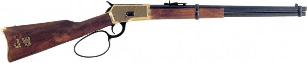 Карабин модель 92. Оружейная реплика. Ковбойская версия41619Выставочно-демонстрационная масштабная модель для коллекционирования, копия карабина 92 Винчестера, версия для ковбоев. Копия полностью копирует оригинал по размеру.