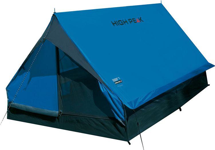 Палатка High Peak Minipack, цвет: синий, серый, 190 х 120 х 95 см. 1015510155Двускатная палатка High Peak Minipack на вертикальных стальных стойках проверена сотнями походов . Достаточно компактная и легкая, она позволит останавливаться на ночевки в одно- или двухдневных походах. Один выход может расстегиваться на две равные половины. Если становится жарко, достаточно раскрыть пологи входа и оставить москитную сетку на входе для хорошей вентиляции. Материал тента имеет полиуретановое покрытие и водонепроницаемость не менее 1500 мм водяного столба. Это защитит вас от несильного дождя. Швы проклеены. За счет вертикальных стенок в основании палатки располагает приличным внутренним объемом.Дуги: сталь 16 мм.Тент: полиэстер 190Т 1500 мм, швы проклеены.Дно: армированный полиэтилен (3000 мм).
