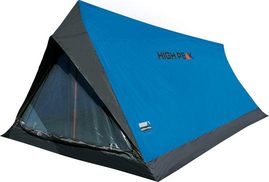 Палатка High Peak Minilite, цвет: синий, серый, 200 х 120 х 90 см. 101571301210Основные преимущества палатки High Peak Minilite - легкость и компактность конструкции. Интуитивно понятная установка палатки, которая устанавливается на две вертикальные фиберглассовые стойки диаметром 9,5 мм. Подойдет для легкоходов и рыбаков, остающихся на ночевку на 1-2 ночи. Материал тента имеет полиуретановое покрытие и водонепроницаемость не менее 1000 мм водяного столба. Швы проклеены. Вход в палатку закрывается на тканевый полог или москитную сетку. Вес палатки всего 1 килограмм.Дуги: фибергласс 9,5 мм.Тент: полиэстер 190Т 1000 мм, проклеенные швы.Дно: полиэстер 3000 мм.