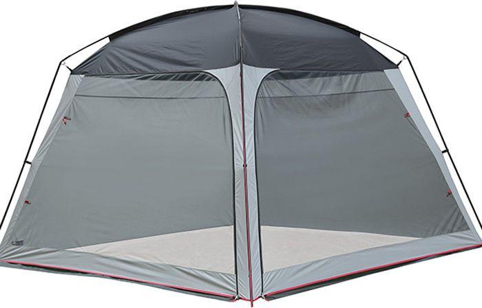 Палатка High Peak PAVILLON, цвет: светло-серый, темно-серый, 300 х 300 х 210 см. 14046KOC-H19-LEDВсегда хорошо иметь отдельную кухню-столовую на большую компанию. Она защитит вас от солнца, ветра и комаров в летний день.Дуги: Фибергласс 11 мм /Сталь 16 ммТент: Полиэстер 1000 ммДно: нет