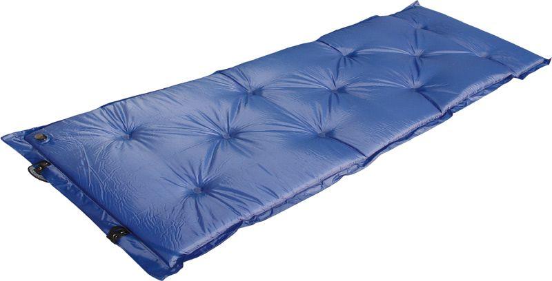 Коврик самонадувающийся High Peak  Trekking Matte , цвет: синий, 180 х 55 х 2,5 см - Туристические коврики