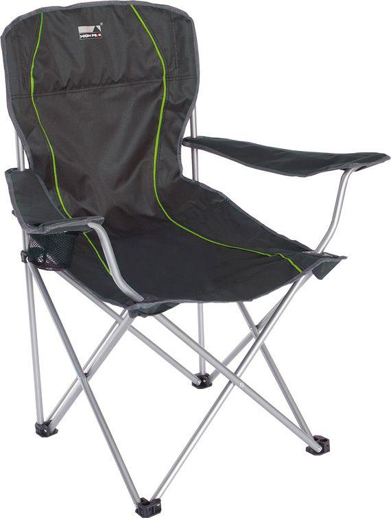 Кресло складное High Peak  Salou , цвет: темно-серый, 54 х 43,5 х 41/93 см - Складная и надувная мебель