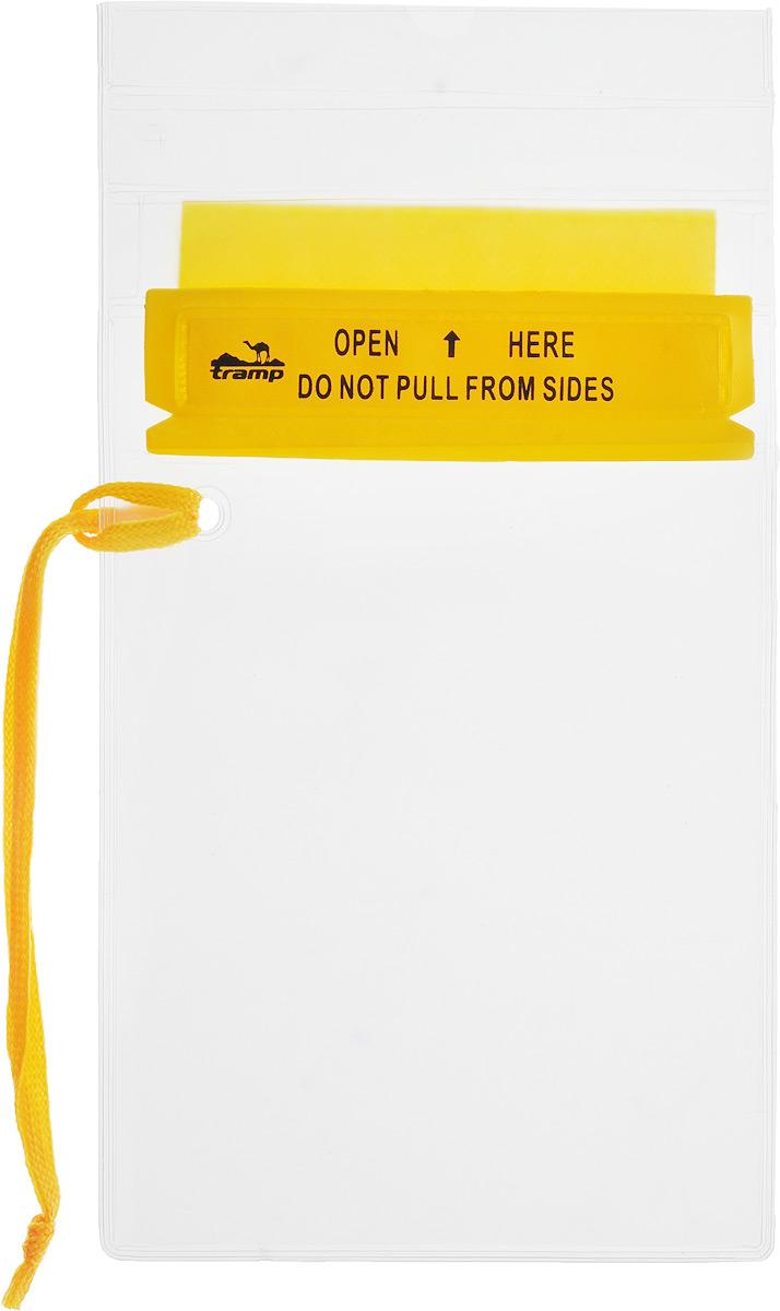 Гермопакет Tramp, цвет: желтый, 12,7 х 18,4 смTRA-025Плоский гермопакет Tramp предназначен для защиты документов, мобильного телефона и прочих важных мелочей от влаги. Незаменим в походах или экспедициях различной сложности.Размер: 12,7 см x 18,4 см.