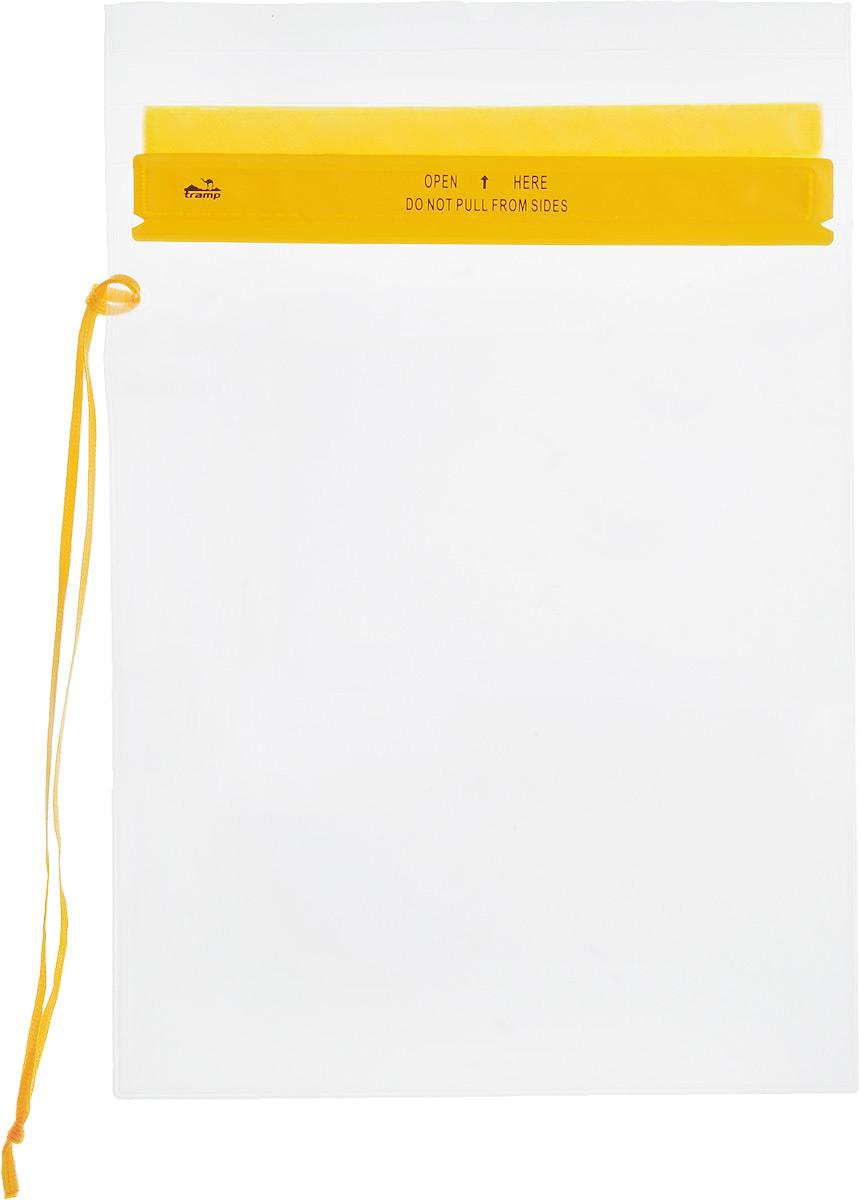 Гермопакет Tramp, цвет: желтый, 26,7 х 35,6 смTRA-023Плоский гермопакет Tramp предназначен для защиты документов, мобильного телефона и прочих важных мелочей от влаги. Незаменим в походах или экспедициях различной сложности.Размер: 26,7 см x 35,6 см.