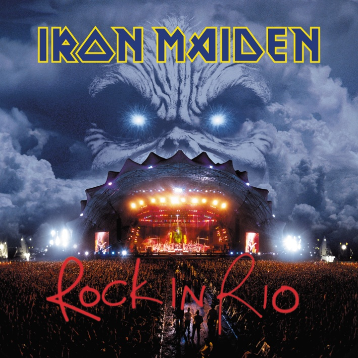 Iron Maiden Iron Maiden. Rock In Rio (3 LP) iron maiden – the book of souls live chapter 3 lp