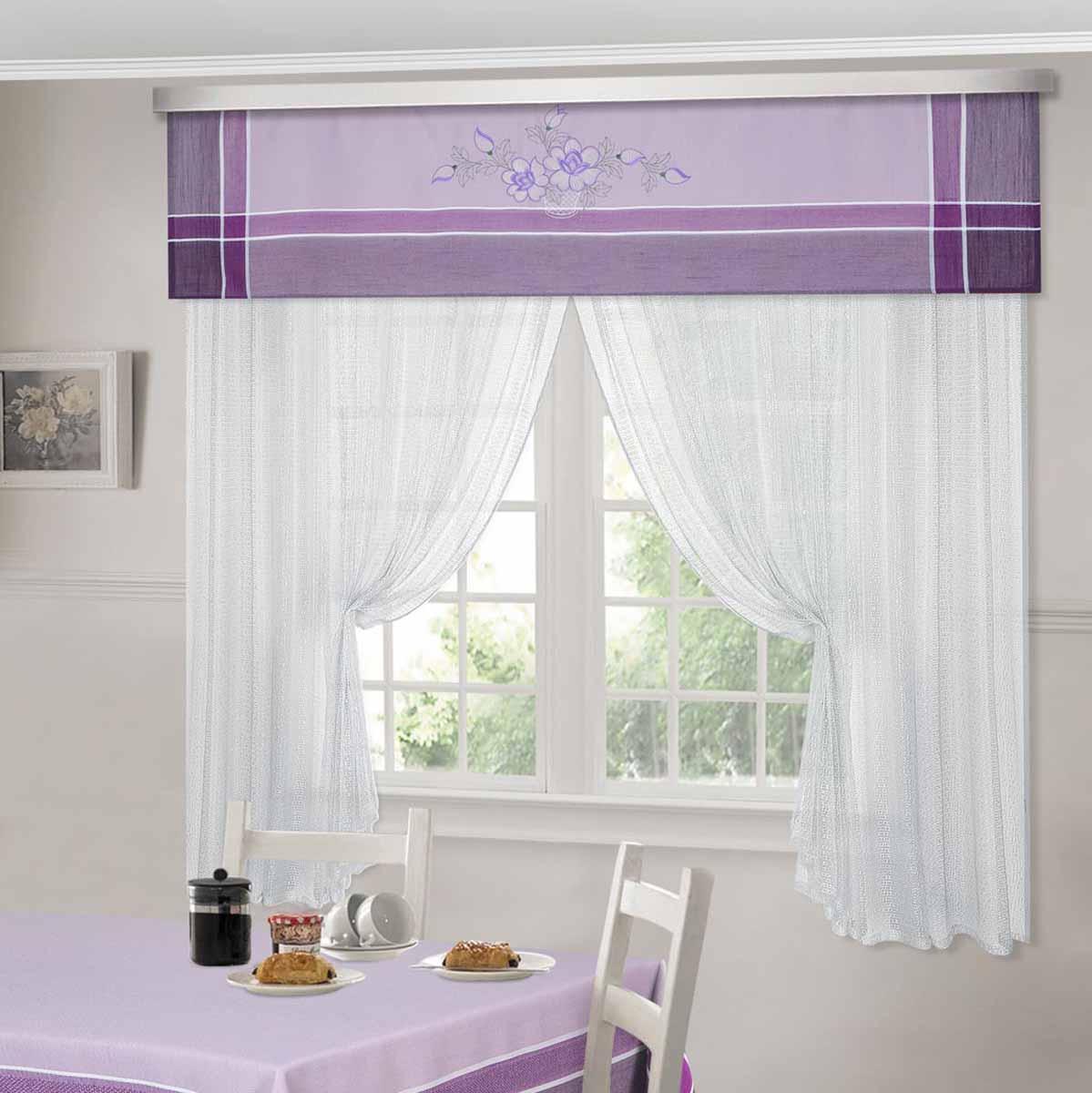 Комплект штор ТД Текстиль Шик, на ленте, цвет: сиреневый, высота 180 см. 92525GC220/05Шторы выполнены из искусственной ткани под лен. Цвета в ассортименте. В наличии присутствуют скатерти из этой же ткани в двух размерах.