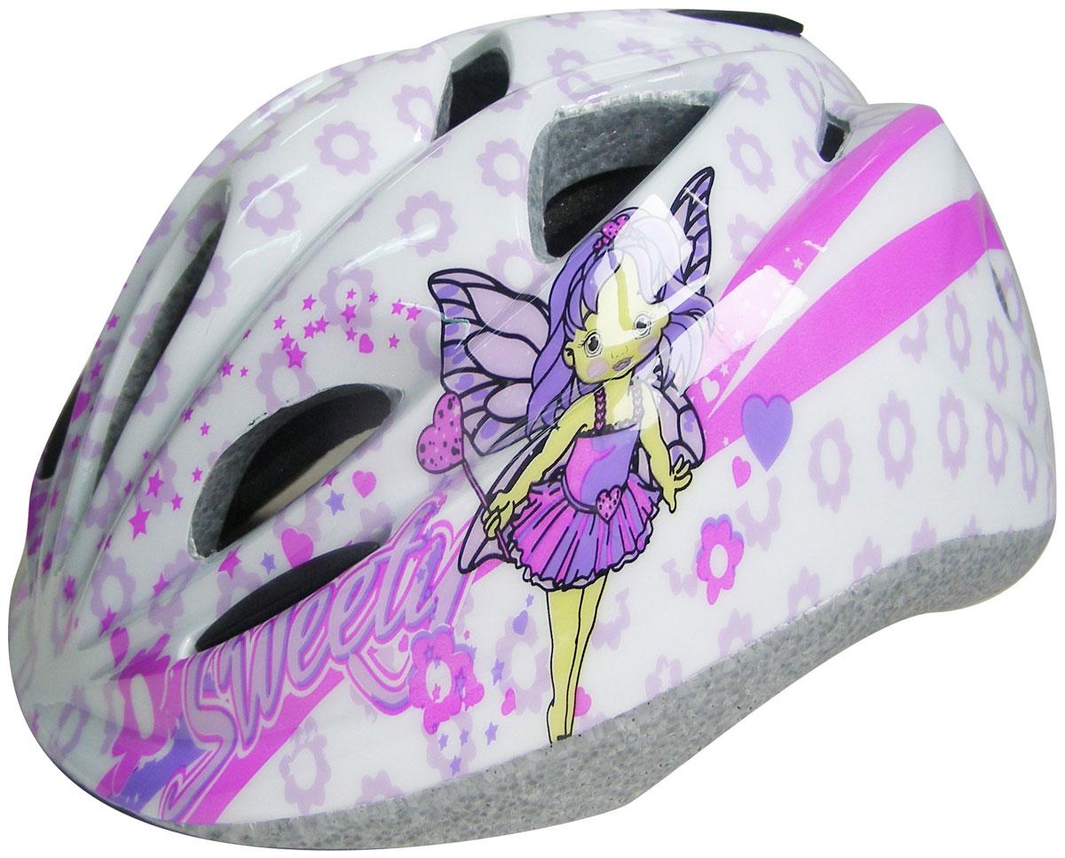 Шлем защитный Action PWH-280. Размер XSZ90 blackОсновные характеристикиРазмер: XS (48-51)Материалы: внутренний - пенополистирол, внешний - поливинилхлоридИмеются отверстия для вентиляции головыЦвет: белый/фиолетовый/розовыйВид использования: любительское катание на роликовых коньках/велосипедеСтрана-производитель: КитайУпаковка: сумка-сетка с европодвесомПредназначен для защиты головы во время катания на роликовых коньках и велосипеде. Преимущества шлема PWH-280:небольшой вес; наличие крепежных ремешков; наличие отверстий для вентиляции головы; удобная анатомическая форма и отстуствие дополнительных элементов, препятствующих обзору роллера.