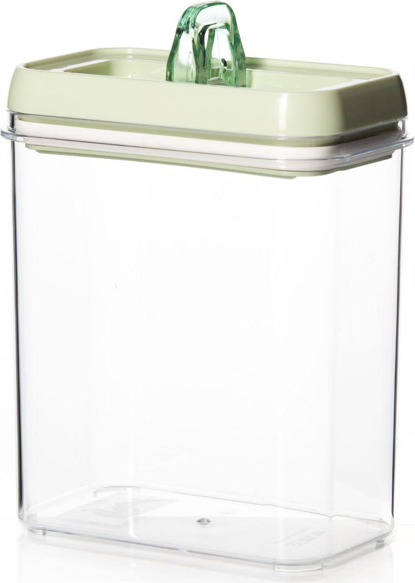 Контейнер для продуктов Herevin, 1,7 л. 161183-032VT-1520(SR)Контейнер для продуктов Herevin изготовлен из качественного пищевого пластика без содержания BPA. Крышка с защелками плотно и герметично закрывается, поэтому продукты дольше остаются свежими. Прозрачные стенки позволяют видеть содержимое. Такой контейнер подойдет для использования дома, его можно взять с собой на работу, учебу, в поездку.