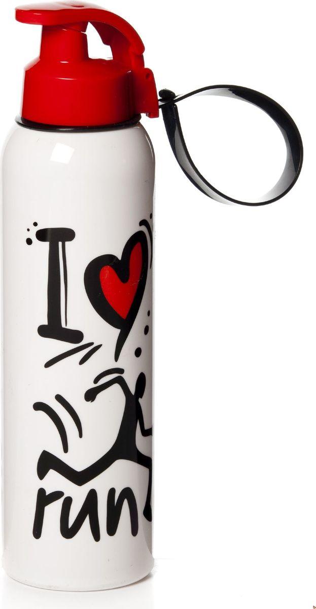 Бутылка Herevin, 750 мл. 161405-010VT-1520(SR)Бутыль спортивная с ручкой 7*7*26 см