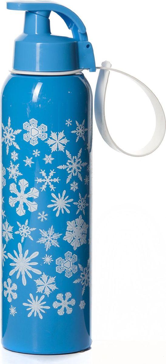 Бутылка Herevin, 750 мл. 161405-040VT-1520(SR)Бутылка для спорта Herevinизготовлена из высококачественного твердого пластика. Бутылка снабжена закручивающейся крышкой с клапаном и регулируемой по длине петлей для удобства ношения.