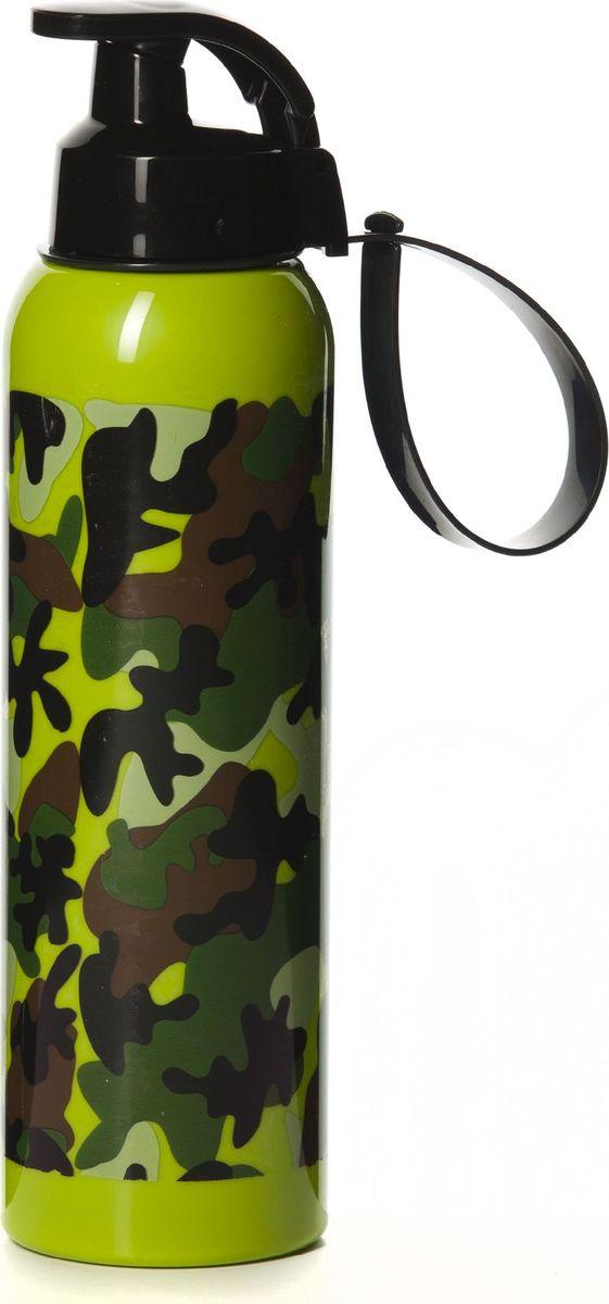 Бутылка Herevin, 750 мл. 161405-060VT-1520(SR)Бутылка для спорта Herevinизготовлена из высококачественного твердого пластика. Бутылка снабжена закручивающейся крышкой с клапаном и регулируемой по длине петлей для удобства ношения.