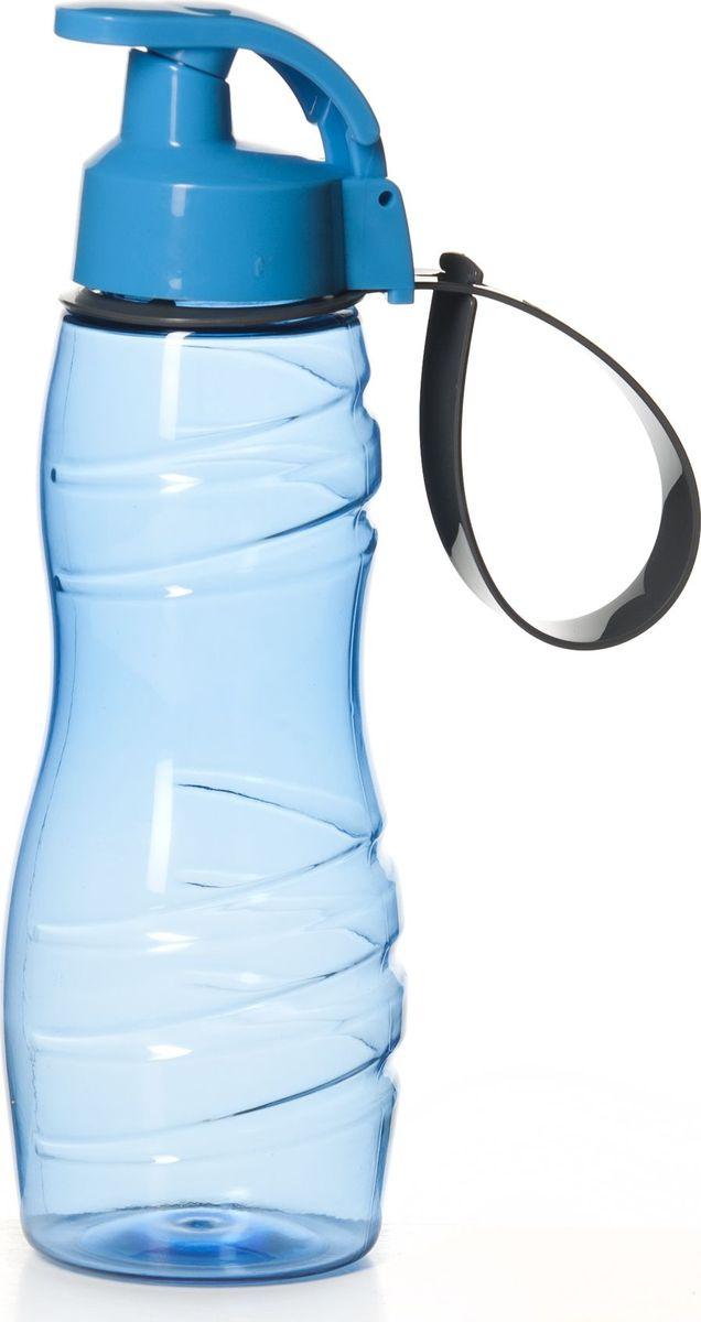 Бутылка для воды Herevin, цвет: голубой, 500 мл. 161410-00067742Стильная бутылка для воды Pasabahce изготовлена из пластмассы. Носик бутылки закрывается клапаном, благодаря чему содержимое бутылки не прольется и дольше останется свежим.Удобная бутылка пригодится как на тренировках, так и в походах или просто на прогулке.Высота бутылки: 22,5 см.Диаметр горлышка: 4 см.