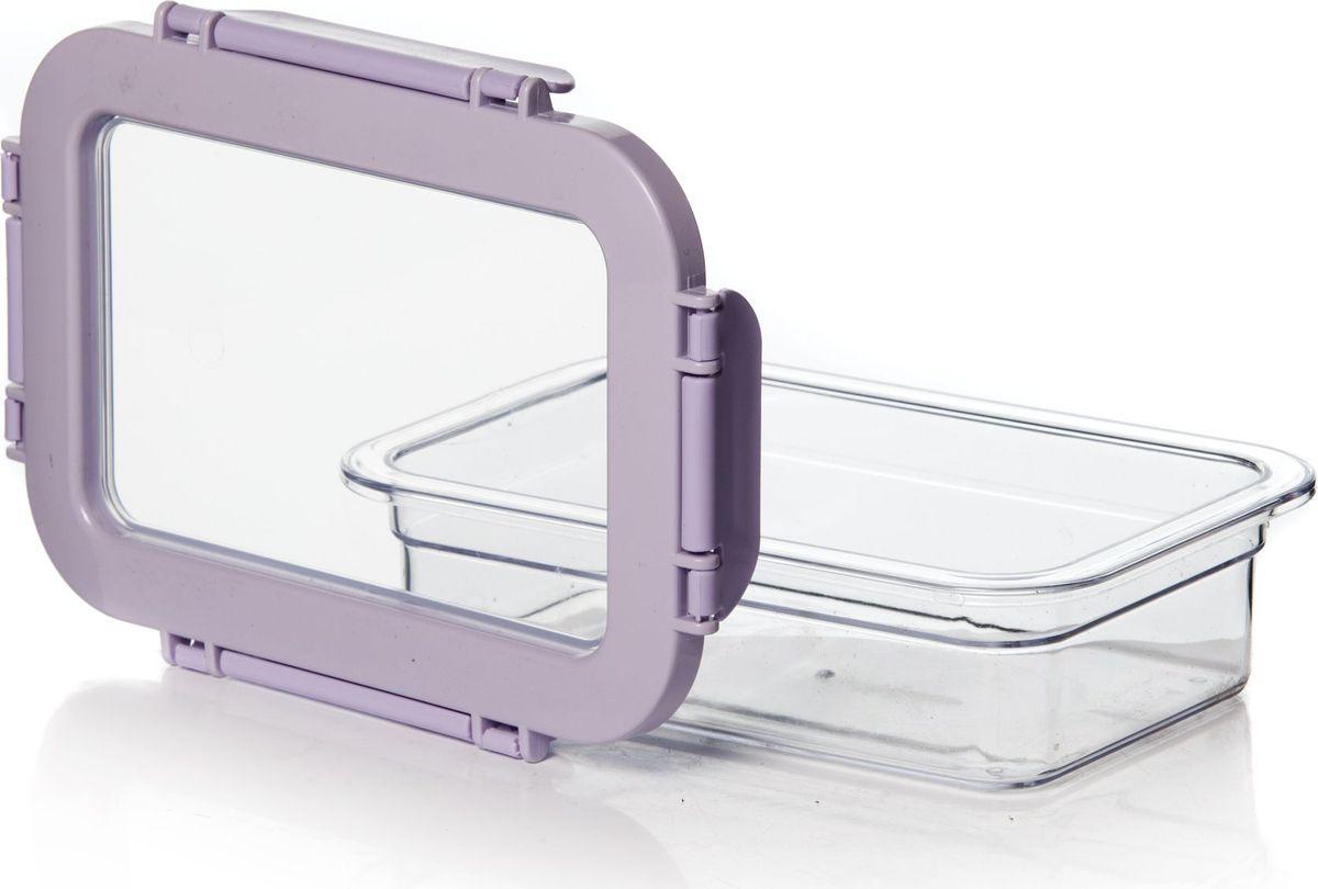 Контейнер для продуктов Herevin, 600 мл. 161426-500VT-1520(SR)Контейнер для продуктов Herevin изготовлен из качественного пищевого пластика без содержания BPA. Крышка с 4 защелками плотно и герметично закрывается, поэтому продукты дольше остаются свежими. Прозрачные стенки позволяют видеть содержимое. Такой контейнер подойдет для использования дома, его можно взять с собой на работу, учебу, в поездку. Можно использовать в микроволновой печи без крышки. Нельзя мыть в посудомоечной машине.