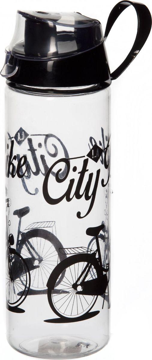 Бутылка Herevin, 750 мл. 161506-009VT-1520(SR)Бутыль спортивная с рисунком 7*7*24 см