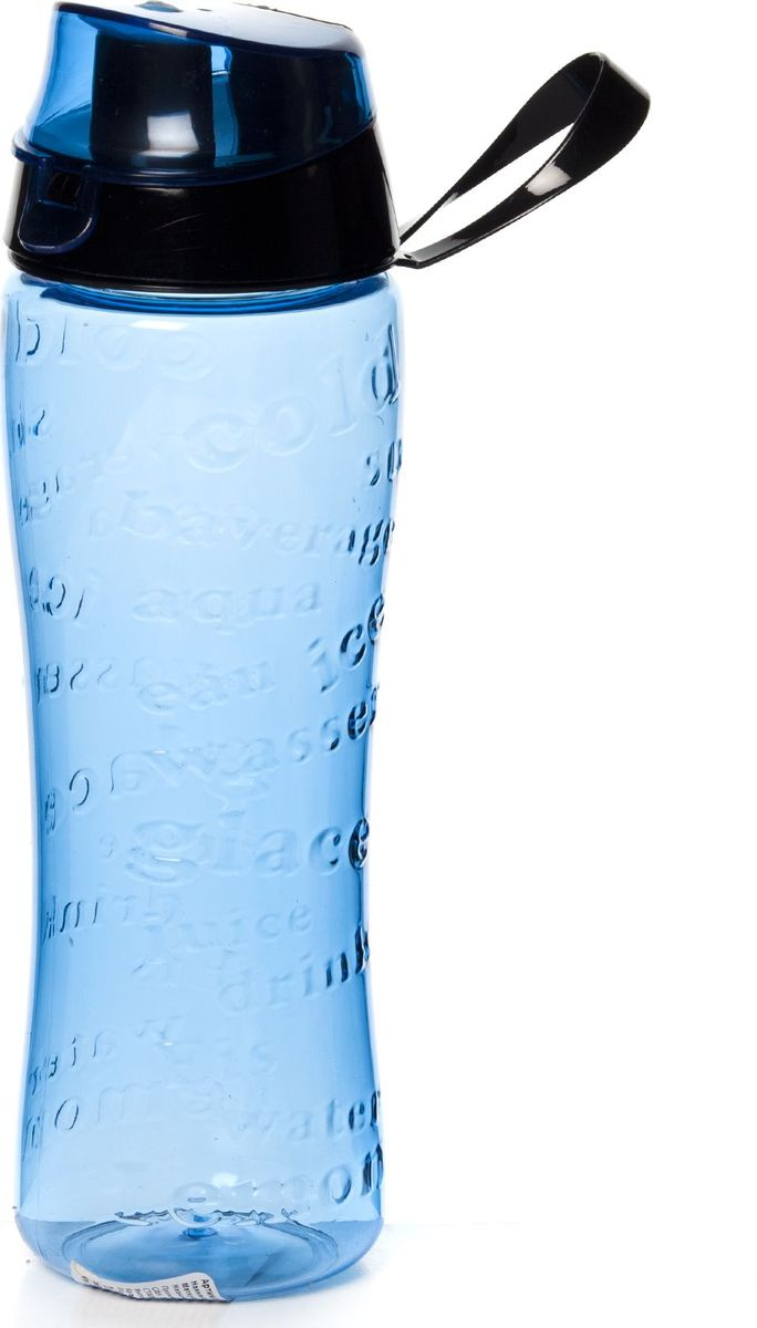 Бутылка для воды Herevin, цвет: синий, 750 мл. 161508-00067742Стильная бутылка для воды Herevin изготовлена из пластмассы. Носик бутылки закрывается клапаном, благодаря чему содержимое бутылки не прольется и дольше останется свежим.Удобная бутылка пригодится как на тренировках, так и в походах или просто на прогулке.Высота бутылки: 24 см.