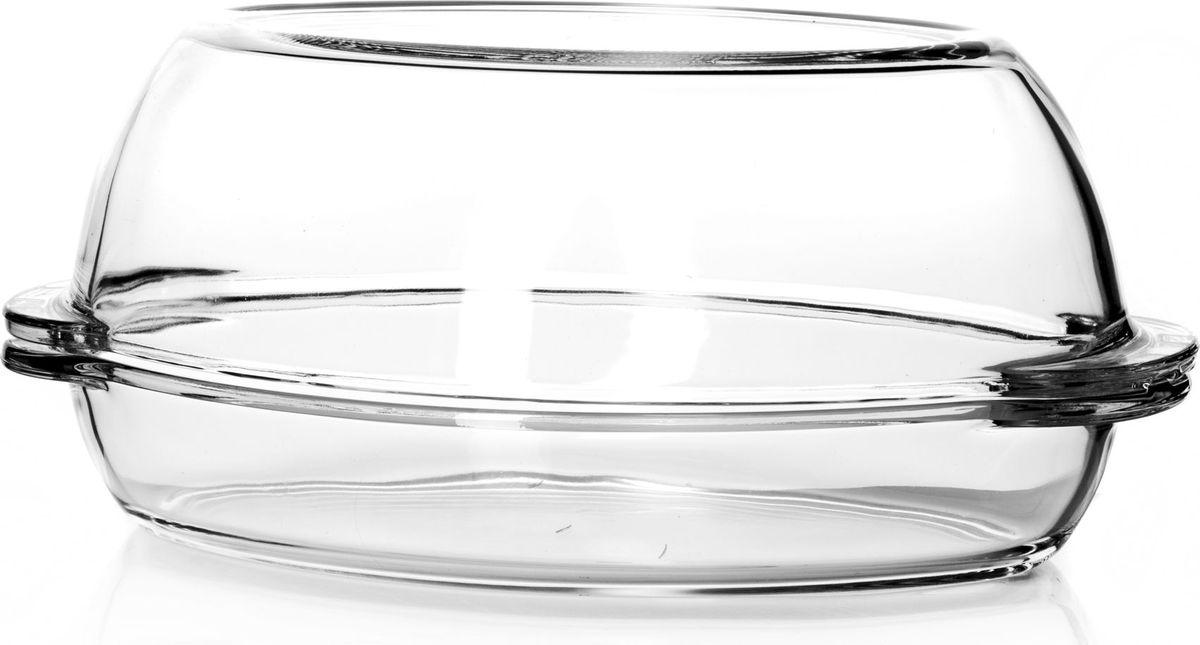 Утятница для СВЧ Pasabahce, с крышкой, 1,7 л. 59052AS30BN0Утятница Pasabahce выполнена из жаропрочного прозрачногостекла и оснащена крышкой. Изделие не вступает в реакцию с готовящейся пищей, невыделяет никаких вредных веществ и не подвергаетсявоздействию кислот и солей. Из-за невысокойтеплопроводности пища в стеклянной посуде гораздомедленнее остывает. Поэтому в такой форме вы можете какприготовить пищу, так и изящно подать ее к столу, не меняяпосуды. Благодаря прозрачности стекла за едой можнонаблюдать при ее готовке. Стеклянная посуда очень удобнадля приготовления и подачи самых разнообразных блюд. Посуду можно использовать в СВЧ и духовом шкафу притемпературе до +300°С, ставить в морозилку при температуре-40°С, а также мыть в посудомоечной машине. Размер утятницы: 35 х 19 х 15 см.