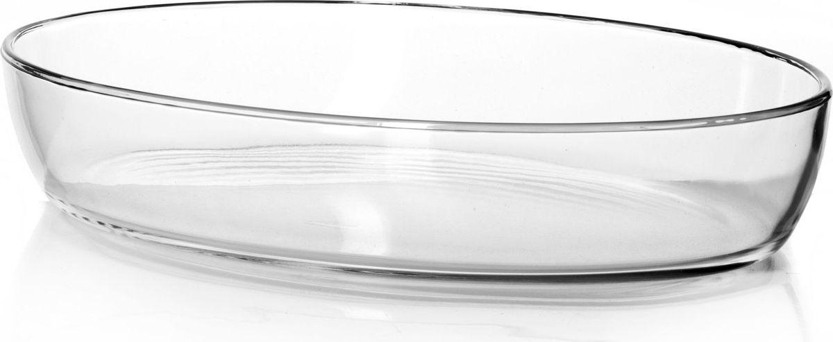 Форма для запекания Pasabahce, 3 л. 59074FS-91909Посуда для СВЧ форма овальная б/крышки 3л (350*245 мм)