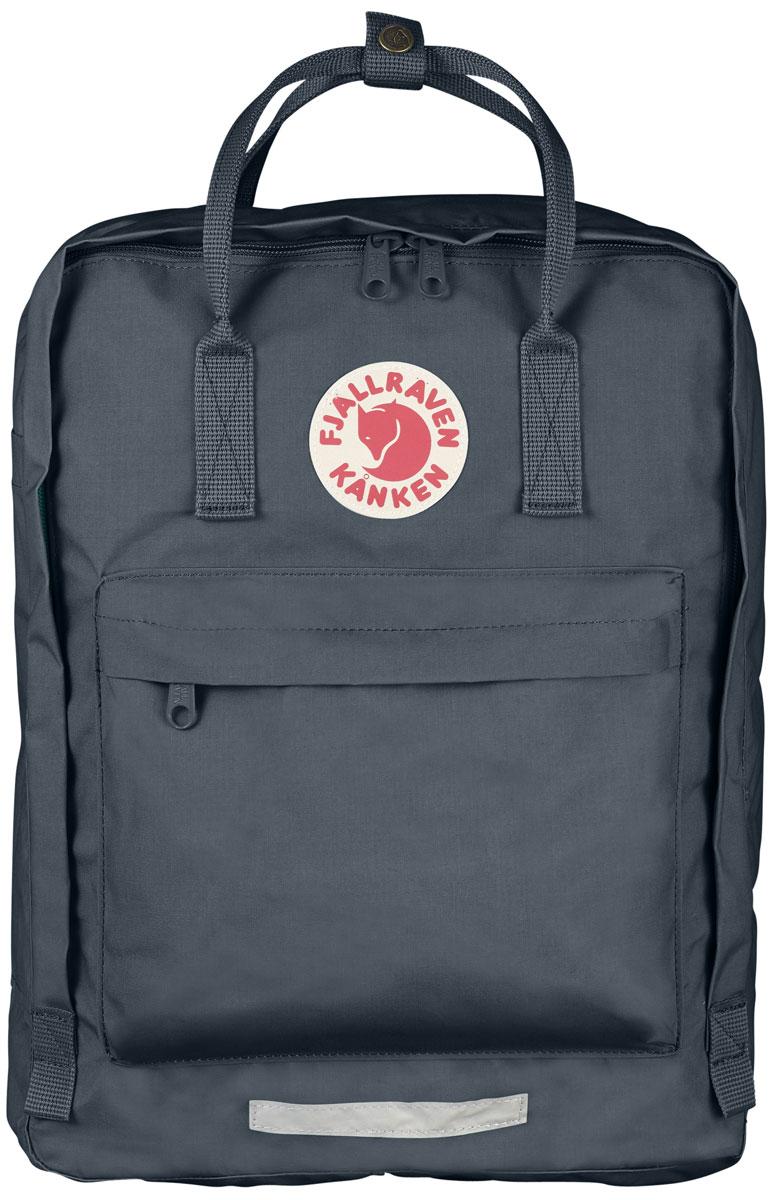 Рюкзак городской Fjallraven Kanken, цвет: серый, 20 л рюкзак fjallraven fjallraven abisko 75 темно серый 75л