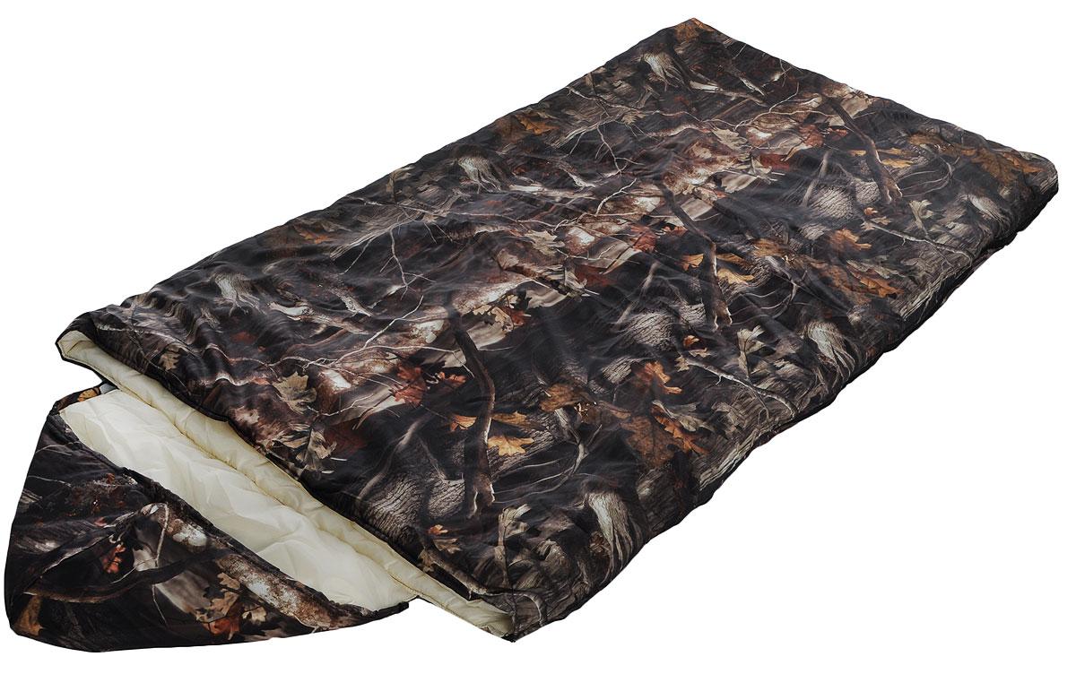 Мешок спальный Onlitop Богатырь, правосторонняя молния, цвет: хаки, 225 х 105 см915475Трехсезонный спальник-одеяло Onlitop Богатырь, выполненный из оксфорда и таффета с наполнителем из синтепона, предназначен для походов и для отдыха на природе не только в летнее время, но и в прохладные дни весенне-осеннего периода. В теплое время спальный мешок можно использовать как одеяло (в том числе и дома). Спальник-одеяло Onlitop Богатырь станет незаменимым аксессуаром для любителей туризма, рыболовов и охотников.Размер спального мешка в расстегнутом виде (одеяло): 185 х 210 см.