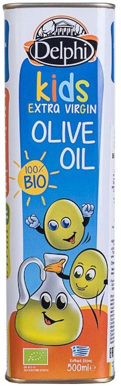 Delphi масло оливковое детское био kids, 500 мл24Масло оливковое нерафинированное высшего качества Extra virgin olive oil. Холестерин 0 г. Кислотность не более 0,5%.