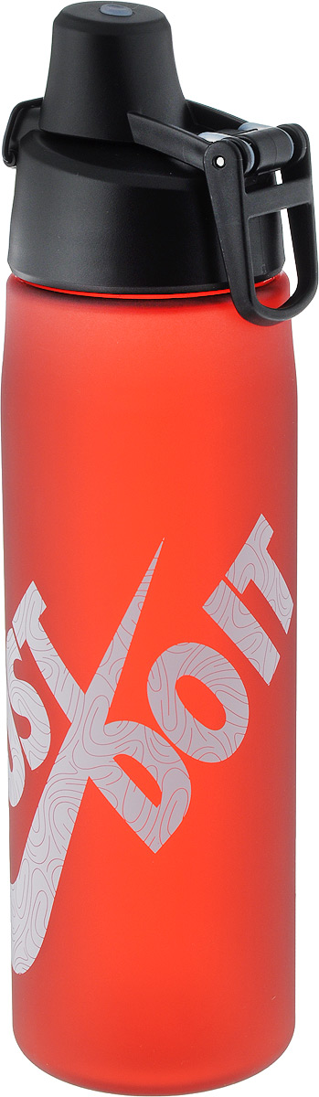Бутылка для воды Nike  Core Hydro Flow Just Do It Swoosh Water Bottle , цвет: красный, белый, 709 мл - Шейкеры